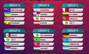 FIFA U-20 World Cup Schedule