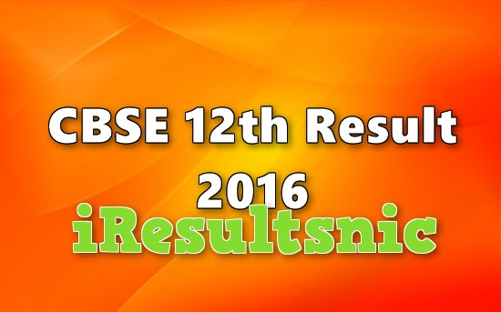 cbse-12th-2016-result