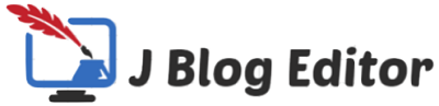 J Blog Editor